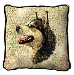 Pillow: Alaskan Malamute