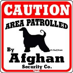 Sign: Afghan