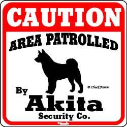 Sign: Akita