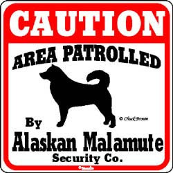 Sign: Alaskan Malamute