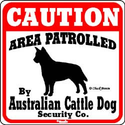 Sign: Australian Cattle Dog