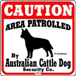 Sign: Australian Cattle Dog