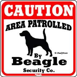 Sign: Beagle