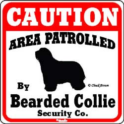 Sign: Bearded Collie
