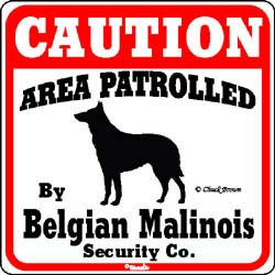 Sign: Belgian Malinois