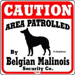 Sign: Belgian Malinois
