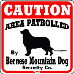 Sign: Bernese Mountain Dog