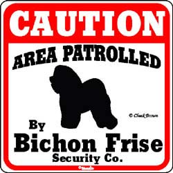 Sign: Bichon Frise