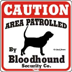 Sign: Bloodhound