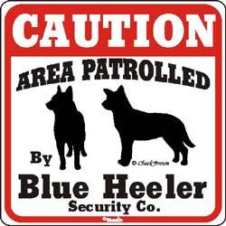 Sign: Blue Heeler