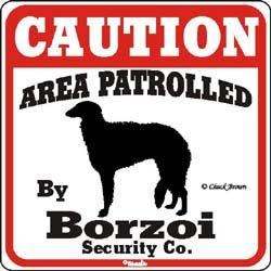 Sign: Borzoi