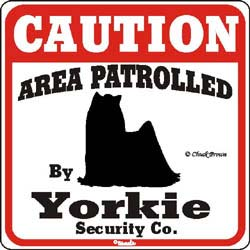 Sign: Yorkie