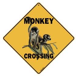 Sign: Monkey