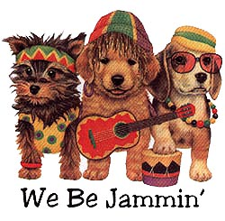 Shirts: Dogs - We Be Jammin
