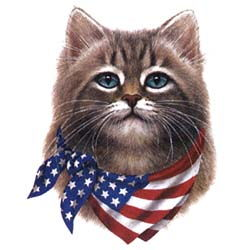Patriotic Shirts - Shirts Patriotic Cat