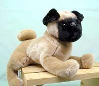 Pug Plush Animal