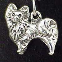 Jewelry - Charm: Pomeranian