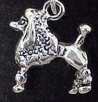 Jewelry - Charm: Poodle