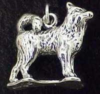 Siberian Husky Charm