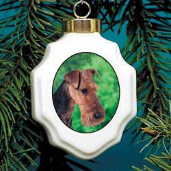 5452 Christmas Ornament: Welsh Terrier