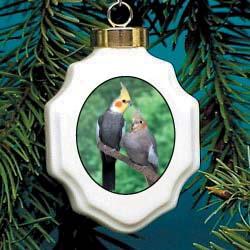 Cockatiel Ornament