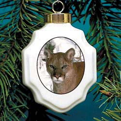 Cougar Ornament