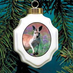 Kangaroo Ornament