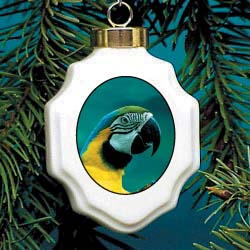 Macaw Parrot Ornament