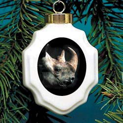 Rhinoceros Ornament