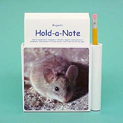 Mouse Note Holder