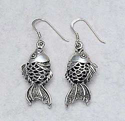 Koi Earrings