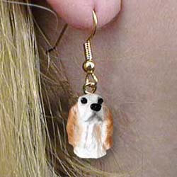 9001 Jewelry   Earrings: English Setter