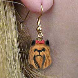 9070 Jewelry   Earrings: Yorkshire Terrier