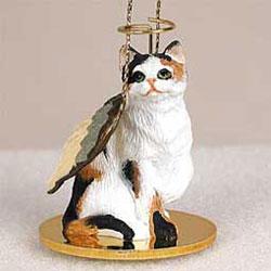 Calico Cat Ornament