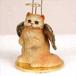 Red Persian Cat Ornament