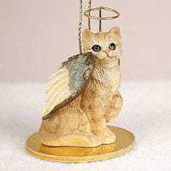 Red Tabby Cat Ornament