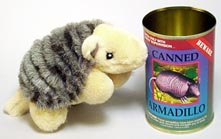 Canned Critter: Armadillo
