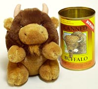 Canned Critter: Buffalo