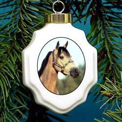 Buckskin Horse Ornament