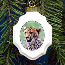 Cheetah Ornament