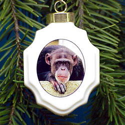 Chimpanzee Ornament
