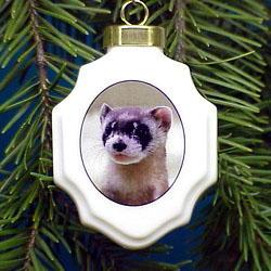 Ferret Ornament