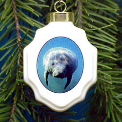 Manatee Ornament