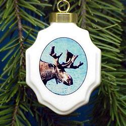 Moose Ornament