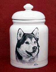 Cookie Jar: Alaskan Malamute