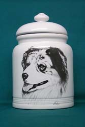 Cookie Jar: Australian Shepherd