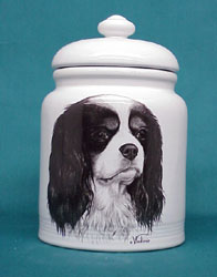 cookjarcavki Cookie Jar: Cavalier King Charles