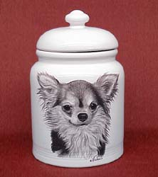 cookjarchihl Cookie Jar: Chihuahua Long