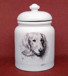 cookjardaclo Cookie Jar: Dachshund Long