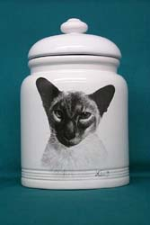 Cookie Jar: Siamese Cat